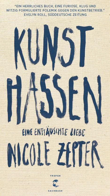 Kunst hassen - Lesung am 20.9. aus ihrem Buch